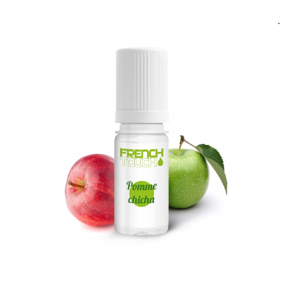 Pomme Chicha French Touch High Vaping