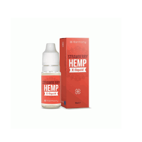 Strawberry Hemp Harmony High Vaping