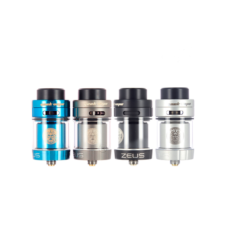 Zeus Dual RTA Geek Vape High Vaping