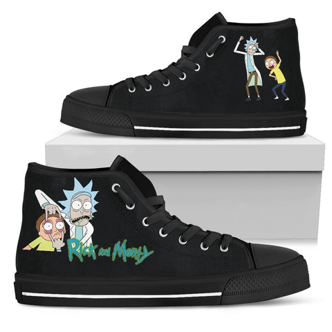 Rick & Morty Shoes v2