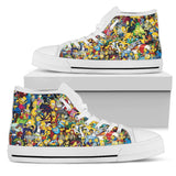 Simpsons Shoes