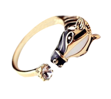Horse Head Adjustable Ring