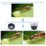 Phone Lens Kit for Smartphones (12X And 24X Macro)