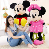 70cm Mickey Mouse & Minnie Plush