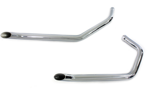 "1¾"" Goose Cut Drag Pipes for Ironhead Sportster"