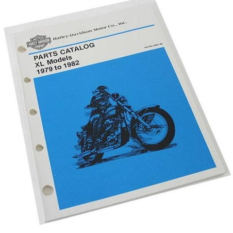 NOS Vintage 1979-82 Sportster XL Official Parts Manual