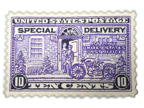 USPS Special Delivery Motorcycle Courier Patch
