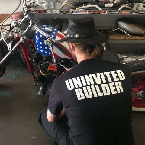Uninvited Builder Tee