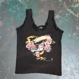 Vintage 1993 Nature's Child Lace Trim Ladies Tank Top