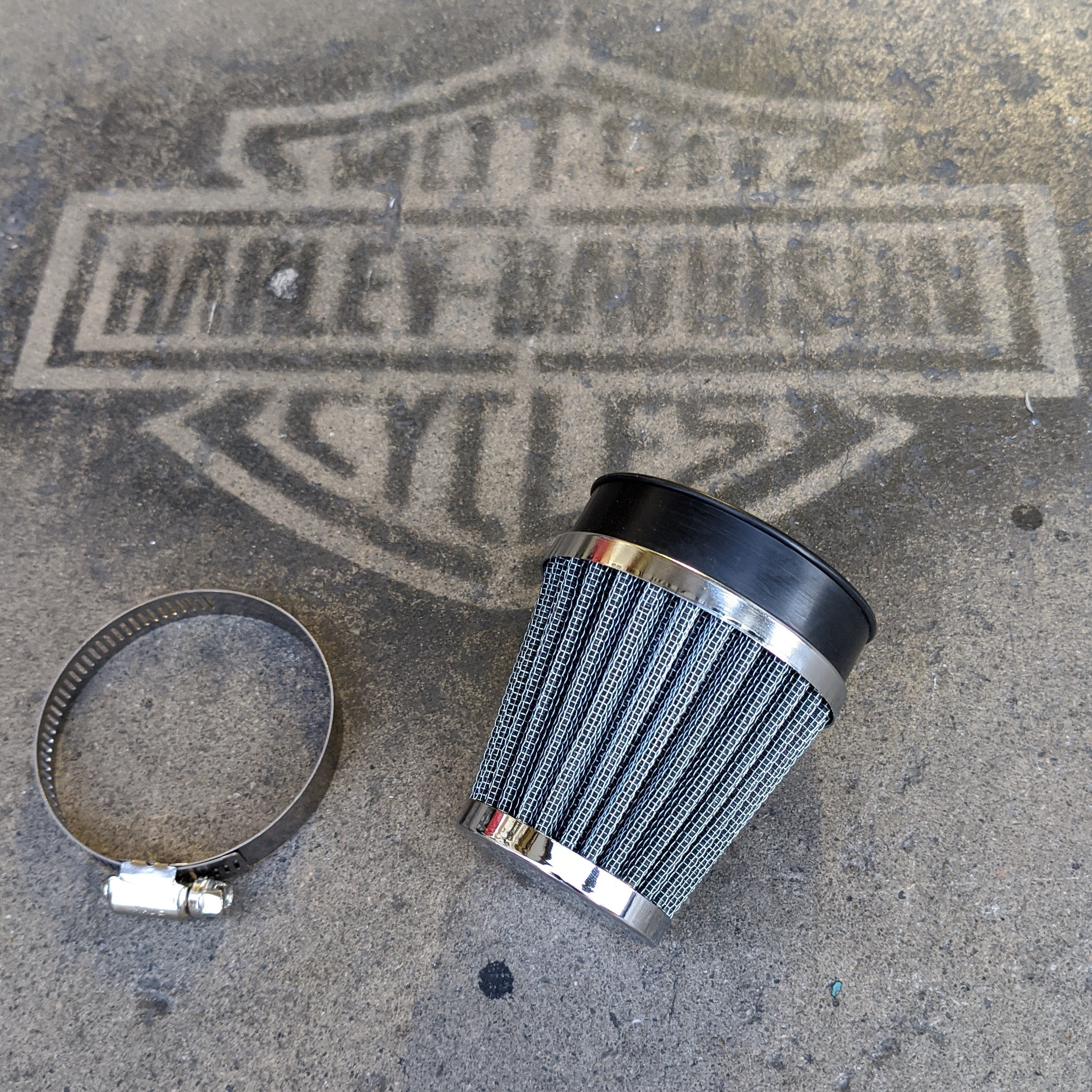 Cone Air Cleaner for Mikuni 38mm Carb