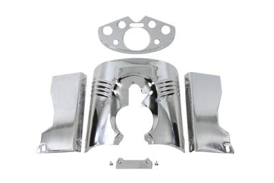 Chrome Fork Cover Set