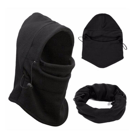 Winter Windproof Hiking Caps,Thermal Fleece Balaclava Face Mask,Ski Bike Motorcycle Neck Warmer Helmet