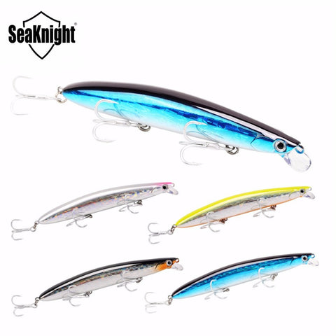 4pcs/Lot SeaKnight SK008 125mm 20g Hard Bait Minnow Fishing Lures 2017 Floating Wobblers 3D Eyes Artifical Baits Fishing Tackle