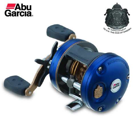 Free Shipping Quality Abu Garcia C4 Seires Baitcasting/Round/Drum Fishing Reel; Size 4600 to 6600, For Saltwater Boat Fishing