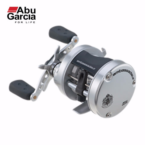Brand Reel Original Abu Garcia AMBASSADEUR S Round Reel 5.1:1 Right Left Hand Bait Casting Fishing 2BB Drum Fishing Reel