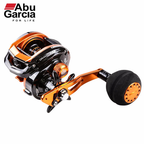Abu Garcia 100% Original Orange Max 3 Baitcasting Reel Low Profile 4+1BB Fishing Reel 7.1:1 Baitcasting Fishing Reel
