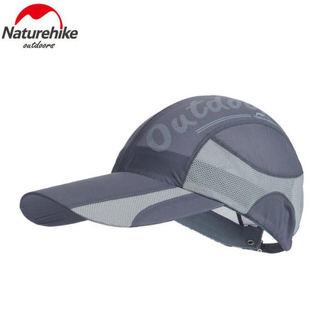 Naturehike Summer Cap  Breathable Outdoor Unisex Sun Hat Quick-dry Foldable Cap Topee Climbing Hiking Cap
