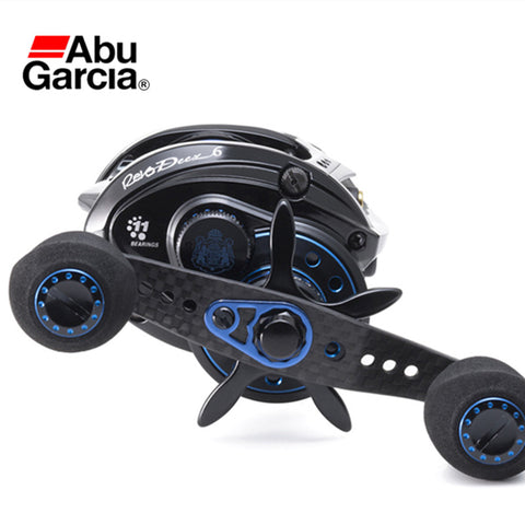 Abu Garcia REVO DEEZ6 Full Metal Baitcasting Reel Lightweight Fishing Reel Adjutable Magnets 10+1BB 6.4:1 Drag 5.5kg Bass Tackle