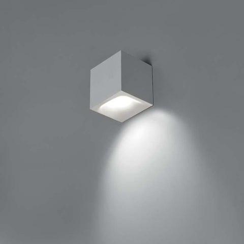 Artemide 0041028A Aede 20W LED 2-Wire Dimmable White Wall Light - Seginus Lighting