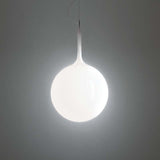 Artemide CAS102 Castore Max 100W E26 White Suspension Light 120V - Seginus Lighting