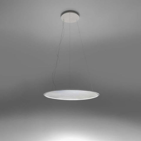 Artemide 1999118A Discovery 49W LED 2-Wire Dimmable Aluminum Suspension Light - Seginus Lighting