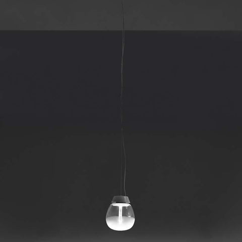Artemide 18118A Empatia LED 2-Wire dimmable White Suspension Light - Seginus Lighting