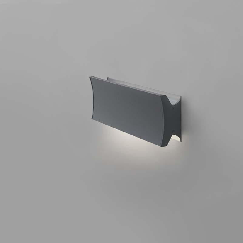 Artemide RDLC1D93 Lineacurve 10W 2-Wire Dimmable 12 Inch Mono LED Wall/Ceiling Light - Seginus Lighting