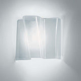 Artemide 0846038A Logico Single Max 60W E12 Grey/White Micro Wall Light - Seginus Lighting