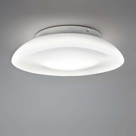 Artemide RD502100 Lunex 75W E26 15 Inch Wall/Ceiling Light 120V - Seginus Lighting