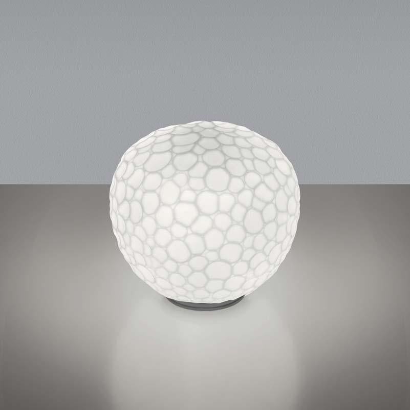 Artemide 1700018A Meteorite Max 100W E26 White 35 Inch with Dimmable Table Light - Seginus Lighting