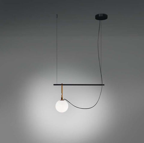 Artemide 127 NH S1 Gold Suspension LED Light - Seginus Lighting