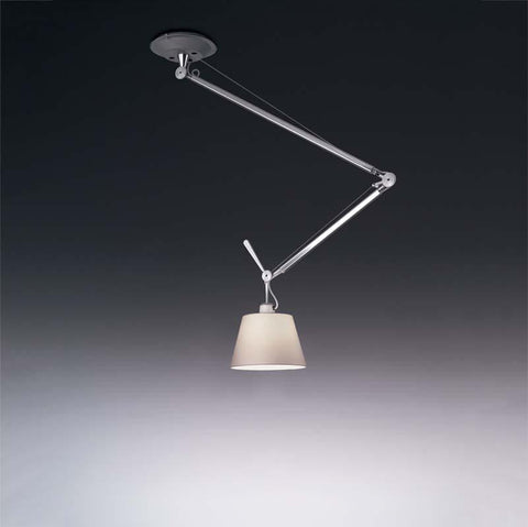 Artemide TOL10100WE26 Tolomeo 10 Inch Max 100W E26 Off-Center Suspension Light - Seginus Lighting
