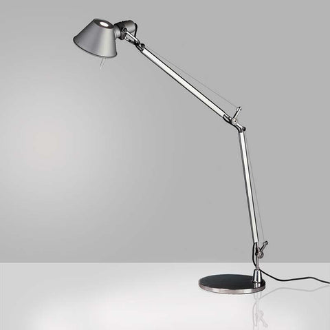 Artemide TOL0005 Tolomeo 10W Aluminum Classic LED Table Light with Base - Seginus Lighting