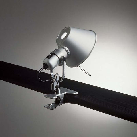 Artemide A044858 Tolomeo Clip Spot 10W LED Aluminum Wall/Ceiling Light - Seginus Lighting