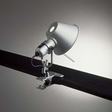 Artemide A005808 Tolomeo Clip Spot Max 100W E26 Aluminum Wall/Ceiling Light - Seginus Lighting