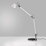 Artemide TOL000 Tolomeo Max 100W E26 Classic Aluminum Table Light with Base - Seginus Lighting
