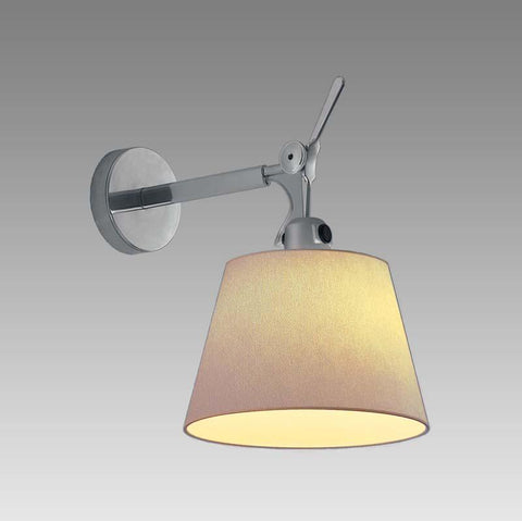 Artemide TOL1174 Tolomeo Max 150W Parchment Shade Wall Light - Seginus Lighting