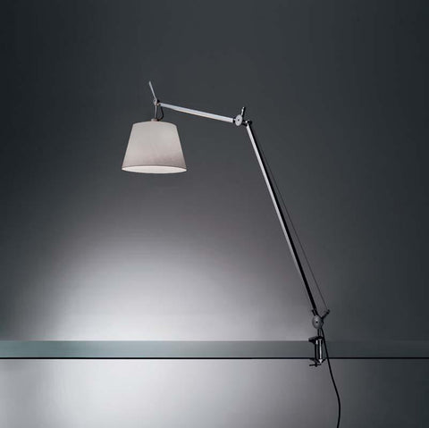 Artemide TLS00075WE26 Tolomeo Max 75W E26 Aluminum Table Light with Clamp - Seginus Lighting