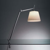 Artemide TLM000 Tolomeo Mega Max 100W E26 Dimmable Aluminum Table Light with Clamp - Seginus Lighting