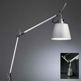 Artemide TLS00 Tolomeo Max 75W E26 Aluminum Table Light with In-Set Pivot - Seginus Lighting