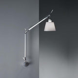 Artemide TLS110 Tolomeo With Shade Max 75W E26 Aluminum Wall Light - Seginus Lighting