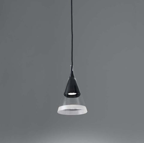 Artemide 1939038A Vigo 10W GU10 Black Suspension Light - Seginus Lighting