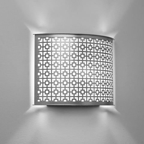 Clarus 14311-HM Indoor/Outdoor Horizontal Mounting Wall Sconce By Ultralights Lighting