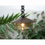 Coe Studios HL-GL Solid Bronze Garden Hanging Lamp with Bayonet LED - Seginus Lighting