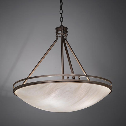 Compass 9924-48-CH Indoor/Outdoor Chain Hung Pendant By Ultralights Lighting