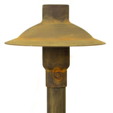 CopperMoon Lighting CM.700-20 Copper 6Inch Path Light Top 20Inch Copper Stem With Stake