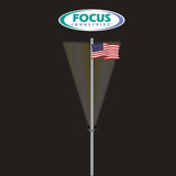 "Focus Industries FA-PM 7"" Pole Ring with 2 Fixture Hubs"