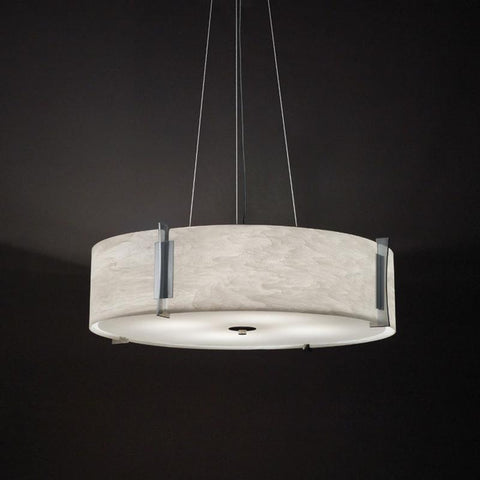 Genesis 11206-24-CH Indoor/Outdoor Cable Hung Pendant By Ultralights Lighting
