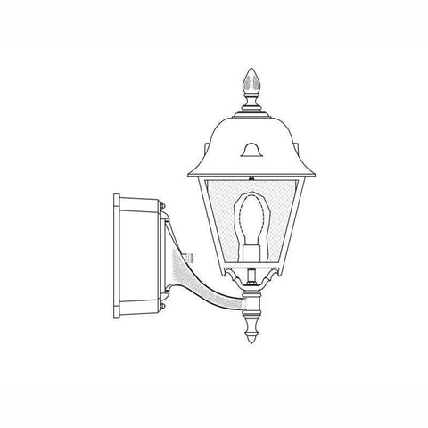 Hadco Urban Jefferson Arm Mount (5700) Outdoor Wall Lights