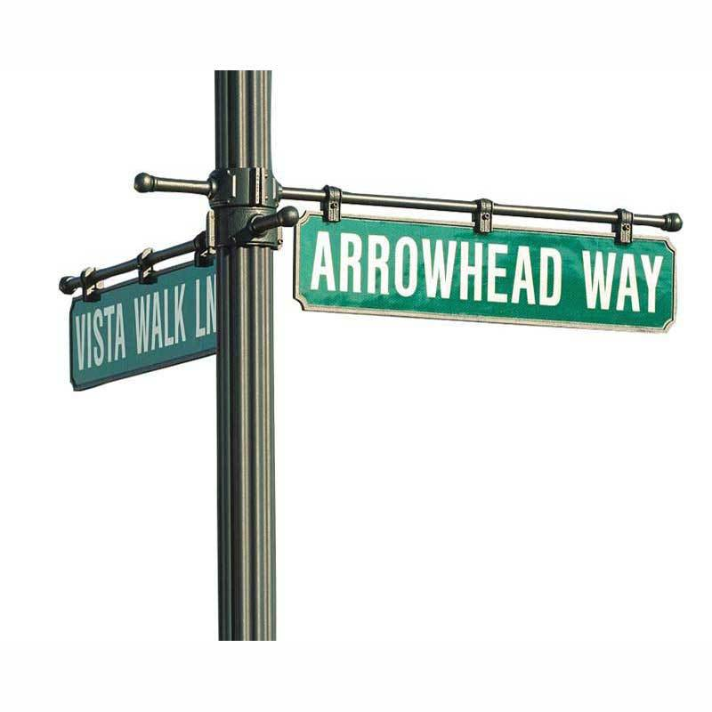 Hadco Urban Street Signs Poles and Brackets